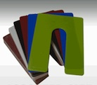 SLOTTED HORSESHOE SHIMS - PLASTIC
