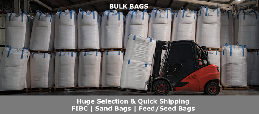 FIBC Bulk Bags, sand bags and more