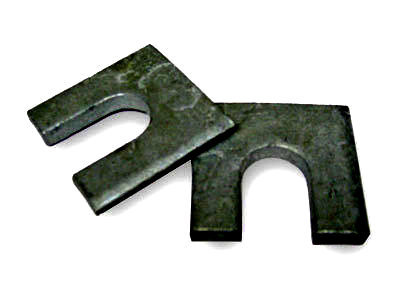 Plain Steel Horseshoe Shim