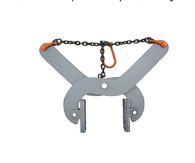 Curb lifting clamp
