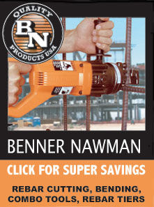 Benner Nawman Rebar Tools for Sale