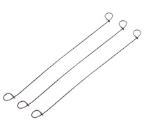 WIRE LOOP REBAR TIES - STAINLESS STEEL 16 GAUGE - 10\
