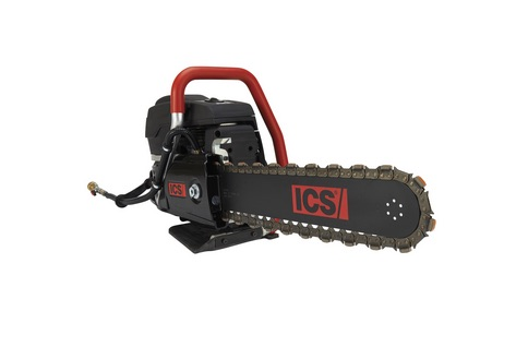 ICS575863| 14 in.695XL GC Gas Saw Package w/ Guidebar & FORCE3 Chain