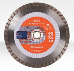 "4"" Husqvarna 542761408 TSD-S-Dri Disc Segmented Blade -10 pc Angle grinder blades, 542761408, diamond blades, wet/dry diamond blades, diamond segmented blades, saw blades for cutting stone, tile, brick. masonry saw blades, segmented Saw blades, diamond blade for angle grinder"