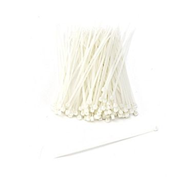 "5-1/2"" Locking Cable Ties Natural- 33,000/box Self locking ties, Neon Cable ties, Safety cable ties, Tie Wraps, Nylon cable ties, Zip ties, Reusable cable ties, Cable bundling ties, Fence ties"