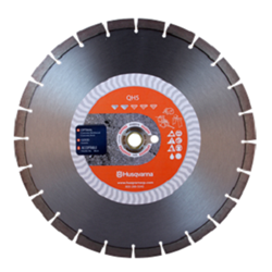 "14"" Husqvarna 542773481 QH5  Diamond Saw Blade Wet/Dry- 5 pc"