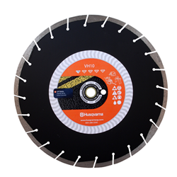 "14"" Husqvarna 542777195 VH-10  Diamond Saw Blade Wet/Dry    Tacti-Cut,Stationary Saw blades, Segmented Diamond blades, Blade for gas powered saw, Blade for Stihl saw, Blades for Cut off saw, Masonry saw blades, Concrete saw blades, Husqvarna Diamond Blades, Target Diamond Blades, Circular Diamond saw blades, Diamond wet saw blades,Diamond wet saw blades,Wet/Dry cutting blades,  Asphalt cutting blades, CMU cutting blades, diamond blades for power saws, Diamond blades for chop saws, Husqvarna MPN 542773482"