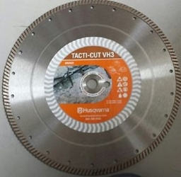 "14"" Husqvarna 589487901 VH3 Diamond Saw Blade Wet/Dry- 3 pack Tacti-Cut,Stationary Saw blades, Segmented Diamond blades,Blade for gas powered saw, Blade for Stihl saw, VH5 Blade, Blades for Cutting Concrete, Masonry saw blades, Concrete saw blades, Husqvarna Diamond Blades, Circular Diamond saw blades, Diamond wet saw blades, Concrete cutting blades, Wet/Dry cutting blades, Cut off saw blades, Asphalt cutting blades, CMU cutting blades, diamond blades for power saws, Diamond blades for chop saws ,Target VH5"