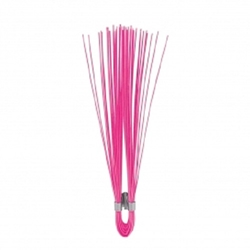 "6"" Polypropylene Marking Whiskers-Pink- 1000 pc/box trail marker,Survey markers, Utility line markers, Athletic field markers, Sprinkler head marker, Irrigation line marker, gas line marker, water line marker, Underground utility marker"