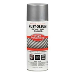 Rustoleum 1600 System Bright Galvanizing Compound Spray - 12pk  galvanizing touch up paint, anti rust paint, anti corrosion paint, 93% Zinc Rich Galvanizing Paint, rust protection paint, anti rust paint, galvanizing touch up paint, rust inhibitor paint, corrosion resistant paint