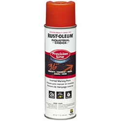 Rustoleum 203035 APWA Alert Orange Water Based Marking Paint- 12 pk