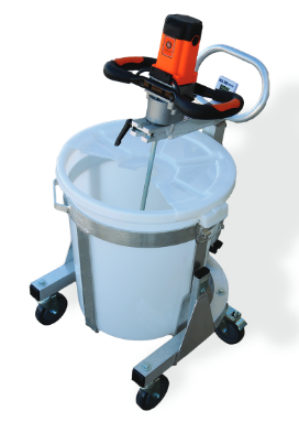New Bnms 100 Mixing Stand And 22 Gal Bucket
