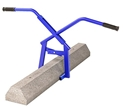 Bon Tool Concrete Curb/Wheel Stop Lifting tong Concrete curb tongs, Parking lot curb tongs, curb lifting clamp, KERB tongs, Curb lifting tongs