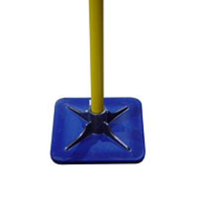 "Bon Urethane Tamper w/ Fiberglass Handle 11"" x 11"" dirt tamp, tamper, steel tamper, soil preparation, level sand, level soil, Pack gravel,landscaping tools, hardscape tools, Paving tools,Soil Tamper, Steel Tamping Tool, Soil leveling tool, dire leveling tool, Asphalt leveling tool, asphalt packing tool, soil packing tool, hand tamping tool, Hardscape leveling tamper"