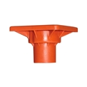 OSHA Orange Rebar Safety Caps - #3-#7 Rebar -100pcs  impalemet safety cap,Orange OSHA Rebar Caps, rebar protection, rebar safety, fits #3-#7 Rebar safety cap, rebar guards, rebar safety covers, fall protection, Steel Stake caps, CAL-OSHA Rebar caps,REBAR fall protection,Rebar Safety covers,reusuable rebar safety caps