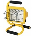 "S-Handle 500 Watt Halogen Light hand held halogen light, job site light, work light, ""S"" handle light, construction light, portable work light"
