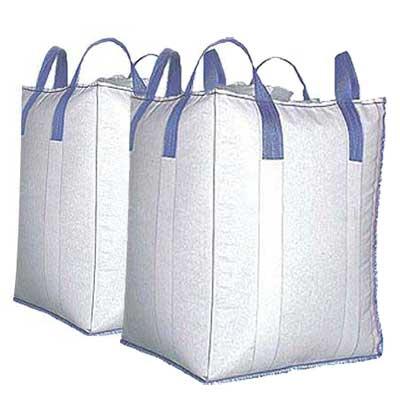 "How Much Is A Ton Of Gravel >> Jumbo FIBC Bulk Bag 40"" x 40"" x 48""- 1.65 yard capacity- 50 pc pack"