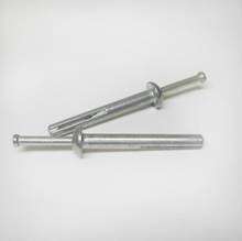 Zamac Nail In Stainless Steel 3""