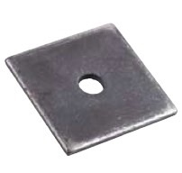 1/4\  x 4\  x 4\  Plate Washer w/1-1/16\  Hole O.C.-25 pc  sc 1 st  Tru Supply Company\u0027s : square plate washer - pezcame.com