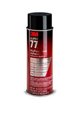 3M Super 77 Multipurpose Spray Adhesive - 12 cans/carton