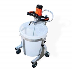 BN Products BNMS-6400 Portable Mixing Station w/BNR-6400 Mixer portable mixer, paddle mixer, thin set mixer, power mixer,portable grout mixer,plaster mixer, Portable paddle mixes. Paint mixer, Mortar mixer, Portable cement mixer, portable grout mixer, 22 gallon capacity mixing station, mini concrete mixer, Collomix mixing station