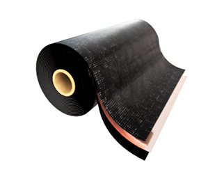 "Wirebond 4150 Copper Fabric Flashing- 3 oz x 12"" x 25 lf- 3 Rolls/bx"