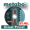 Metabo Type 1 Slicer Plus Cutting Wheel