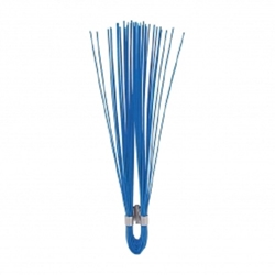 "6"" Polypropylene Marking Whiskers-Blue- 1000 pc/box Survey markers, Utility line markers, Athletic field markers, Sprinkler head marker, Irrigation line marker, gas line marker, water line marker, Underground utility marker"