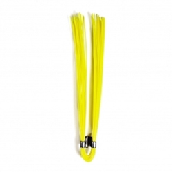 "6"" Polypropylene Marking Whiskers-Yellow- 1000 pc/box Trail Marker,Survey markers, Utility line markers, Athletic field markers, Sprinkler head marker, Irrigation line marker, gas line marker, water line marker, Underground utility marker"