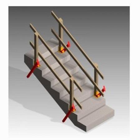 Deslauriers Stair Grabber Temporary Stair Rail