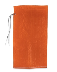 "Orange Polypropelyne Sand Bags  14"" x 26"" -1000 pc pack"