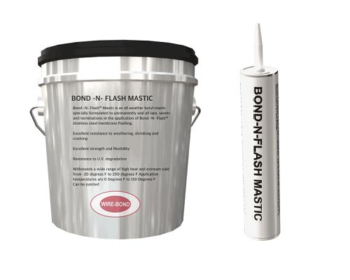 WireBond Bond-n-Flash Mastic - 5 Gallon Pail